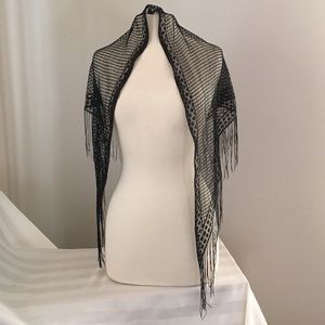 Accessories - Lacey Evening Scarf