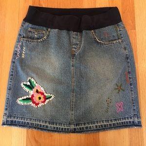 american star Dresses & Skirts - American Star MATERNITY denim skirt