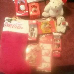coca cola Other - Vintage coca cola Christmas bundle