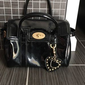 Mulberry for Target Handbags - Mulberry for Target black patent purse