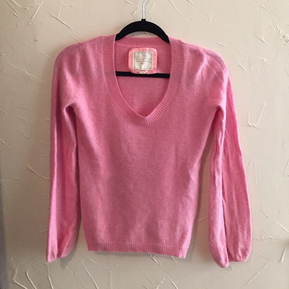 84% off Old Navy Sweaters - Old Navy Pink Cashmere Sweater from ...
