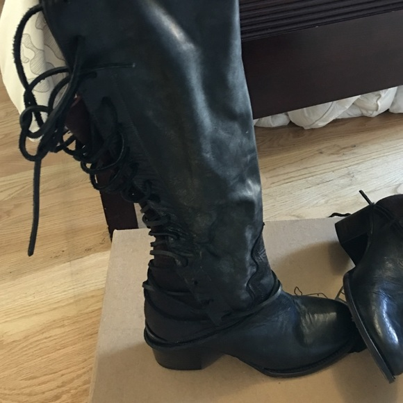 9dd1d18080b Steve Madden Freebird Coal Boots. M 58273e8c41b4e0be7b0339cb