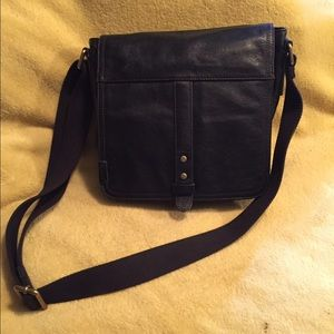 Fossil black purse