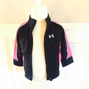 Under Armour Other - Under Armour  Black & Pink Jacket