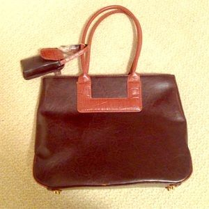 Bellerose Handbags - Brown purse with cellphone case