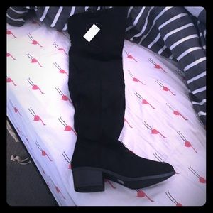 New with tags over the knee boots-reserved