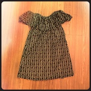Umgee Black & Gold Dress