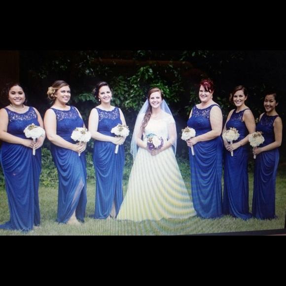Davids Bridal Dresses Marine Blue Bridesmaid Dress Davids Bridal