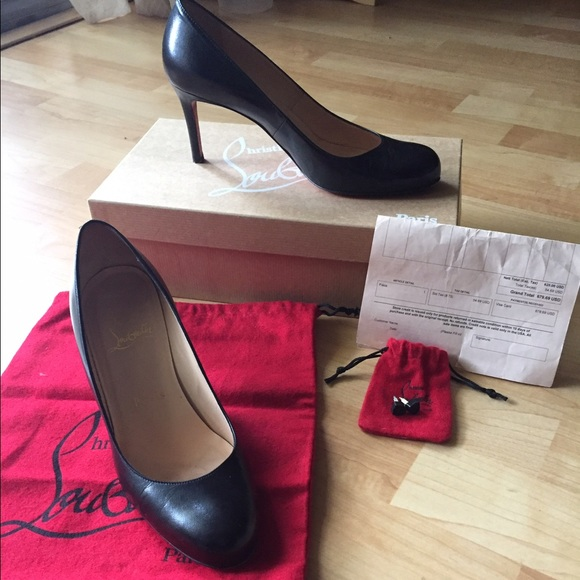 christian louboutin simple 70 pumps