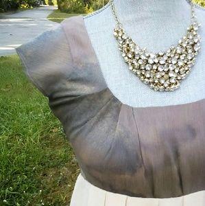 Tricia Fix Chiffon Empire Waist Dress