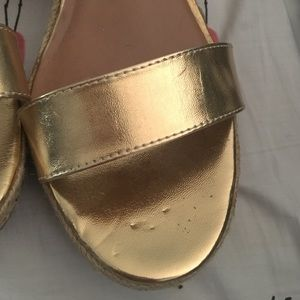 Lilly Pulitzer for Target Shoes - Lilly Pulitzer for target gold wedges new