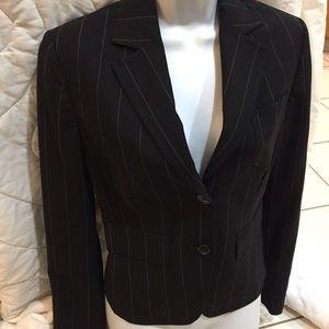 Express sz 4 Business jacket pinstripe