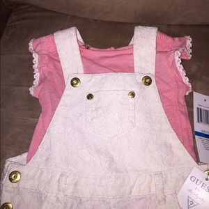 Guess Other - BNWT Gorgeous lace overalls