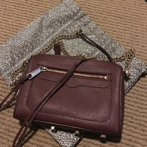 Maroon Rebecca Minkoff bag
