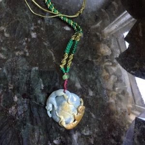 Lucky Jade Jewelry - Real jade necklace
