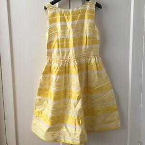 Lilly Pulitzer Eryn Yellow Stripe Dress