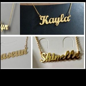 Jewelry - Name necklace ( custom)