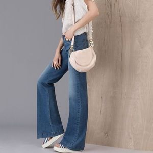 See by Chloe Denim - See By Chloe light blue boot cut jeans