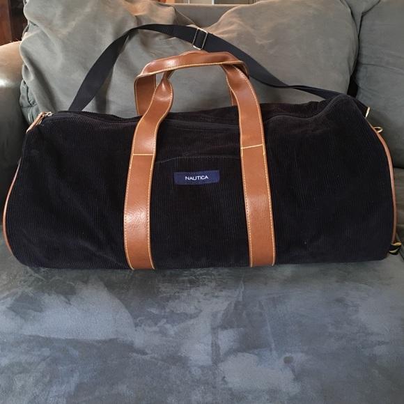 910046768 Nautica Corduroy Travel Duffle Bag. M_58275ca94e8d170c4a039f21