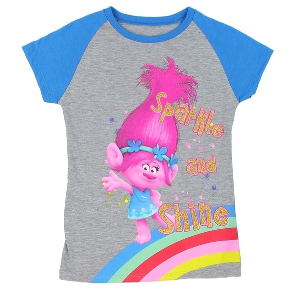 78f3261d4 Dreamworks Shirts & Tops | Trolls Sparkly Toddler T Shirt Nwt | Poshmark