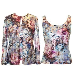 Alex Evenings Tops - 2pc Dressy top and jacket