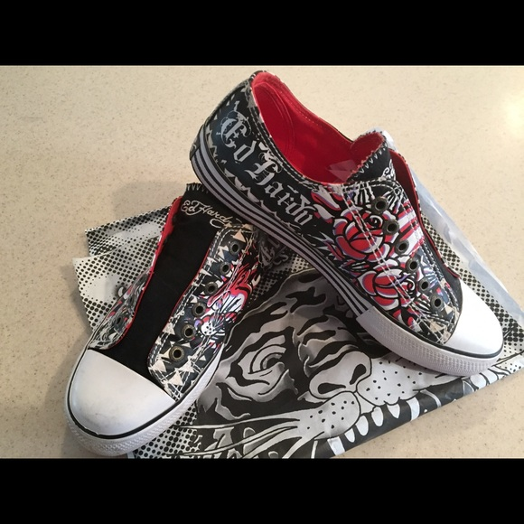 Ed Hardy Shoes | Cool Ed Hardy Sneakers