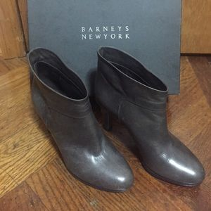 Barneys New York CO-OP Shoes - Ankle grey boots
