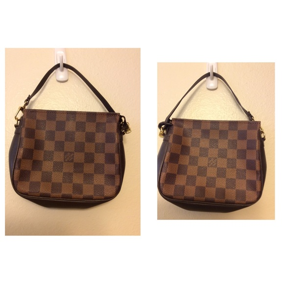 25cd70b703b Louis Vuitton Handbags - Auth LV Damier Trousse makeup Pouch Hand Bag