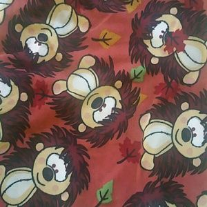 Lularoe Hedgehogs OS leggings NWT