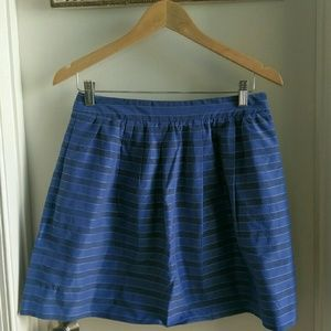 J. Crew silk/cotton skirt
