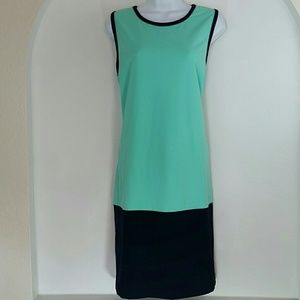 Cynthia Rowley Color Block Body Con Dress XL