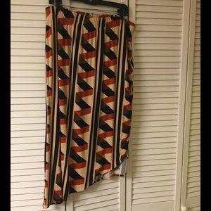 Dresses & Skirts - Multi color hi-lo skirt