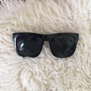 Boohoo giant square sunglasses