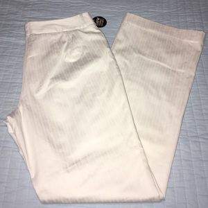 Apostrophe Pants - White slacks, fully lined