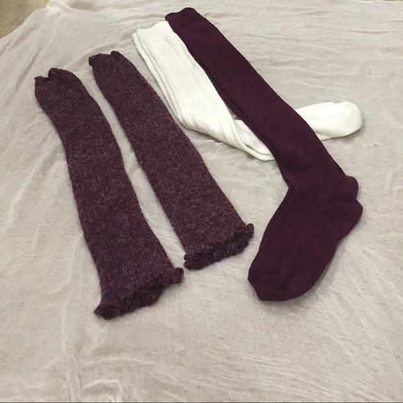 b4317feafc1 Accessories - 2 boot socks   1 leg warmers boot cuffs!! BARGAIN!
