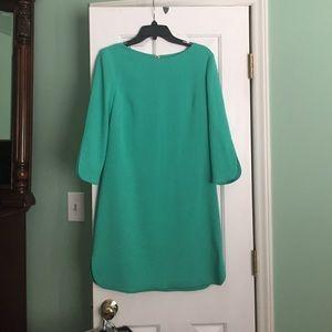Mint green Eliza B dress from Macy's.