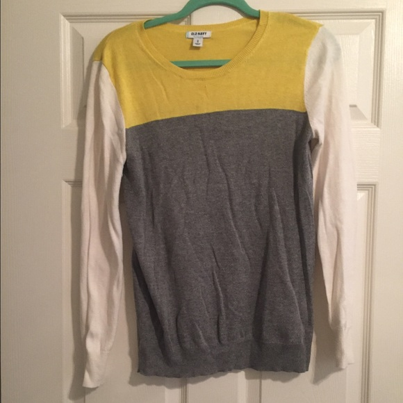 71% off Old Navy Sweaters - Old Navy color block sweater from ...