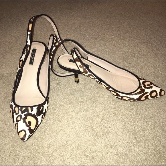 Zara Shoes | Zara Leopard Print