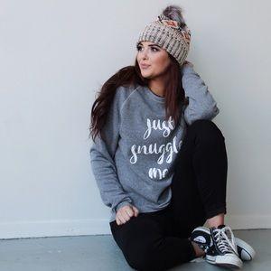 Friday Apparel Sweaters - Just Snuggle Me Sweatshirt