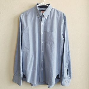 Brooks Brothers Blue Checked Button Down Shirt
