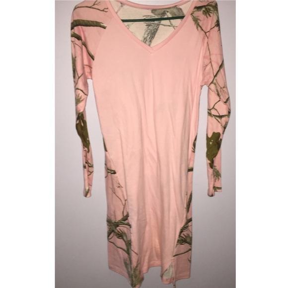cabelas Other - Pink Camo Cabelas Sleep Dress 927ae05fd