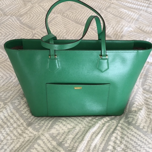 fee6712be477 Lauren Ralph Lauren Bags | Rl Green Lowell Tote | Poshmark