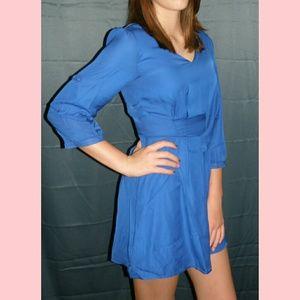Pants - NWT Ladies Blue Romper