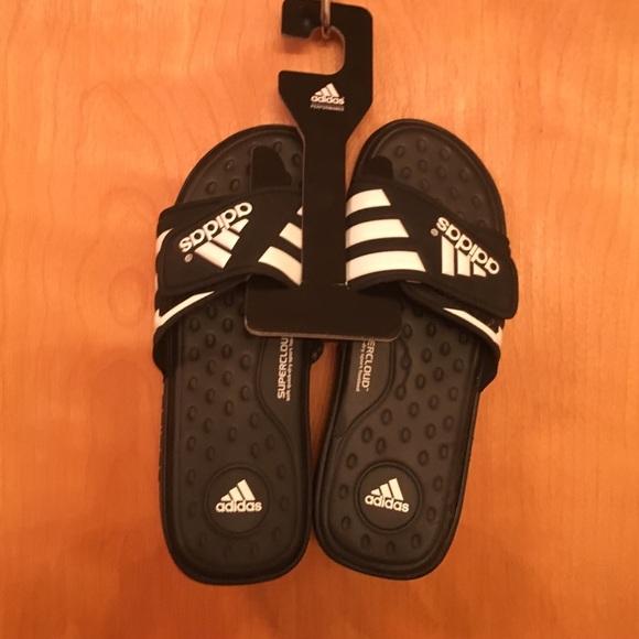 8bd15191f3cb Adidas Other - ADIDAS MEN S ADISSAGE SUPERCLOUD ADJUSTABLE SLIDE