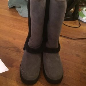 UGG Shoes - BRAND NEW UGG Women's Sunburst Tall boots grey