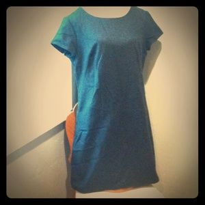 Gap Premium Wool Shift Dress
