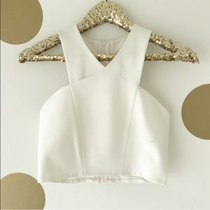 Express Racerback Fitted Crop Top