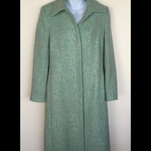 Tocca Jackets & Blazers - Mint Green Tocca Wool coat.  Excellent condition.