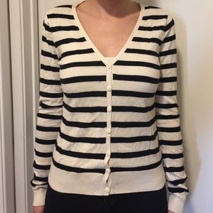 hm-moden Sweaters - H&M Striped Cardigan