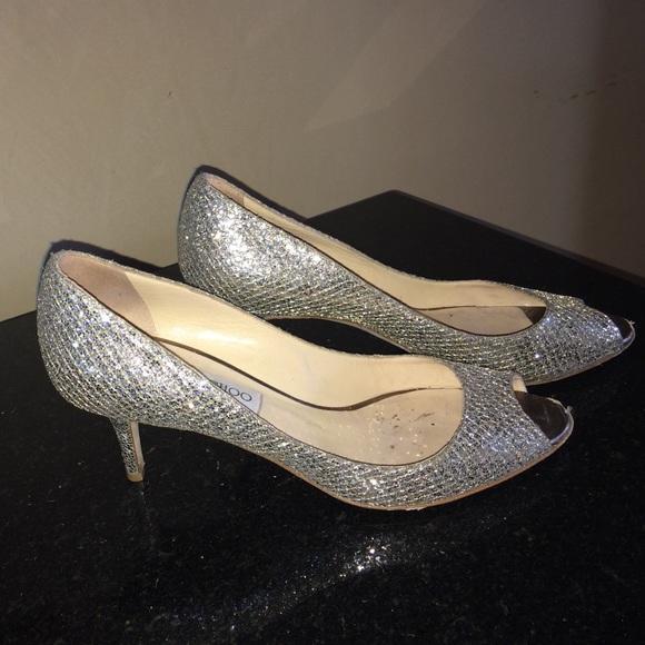 d46d7634c66 Jimmy Choo Shoes - Jimmy Choo gold 2 1 2 inch heel pump